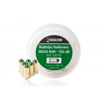 Naboje hukowe 5,6/16 mm Kolter LONG, MEGA HUK, 25 szt.