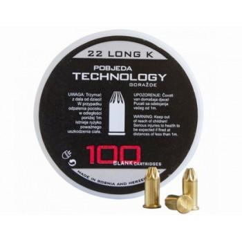 Naboje hukowe PTG 6 mm LONG 100 szt.