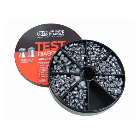 Śrut JSB Diabolo Test Zestaw 4,5 mm