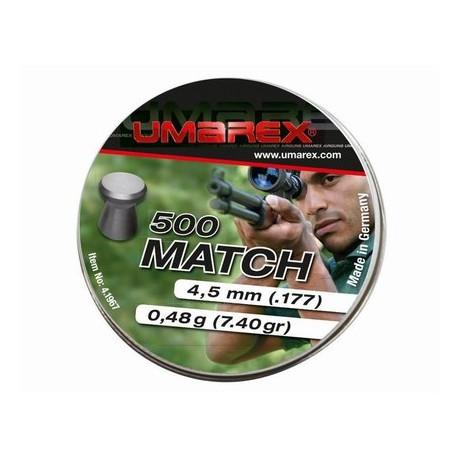 Śrut diabolo UMAREX Match 4,5 mm