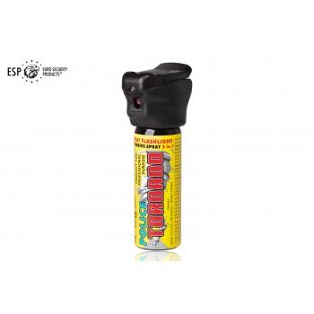Gaz pieprzowy ESP Police Tornado 63 ml z latarką LED