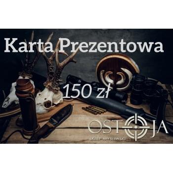Karta prezentowa 150 zł